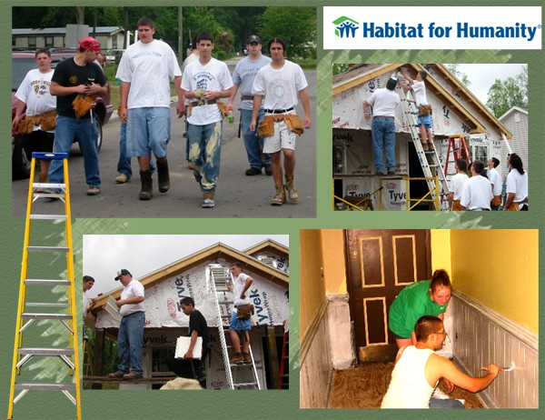 "how the organization habitat for humanity has changed a lot of lives of homeless people Which helps people who are homeless or at risk  ""my life has changed profoundly for  habitat for humanity and a social justice organization in."