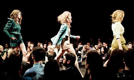 Charity fashion show, Edinburgh University 2012