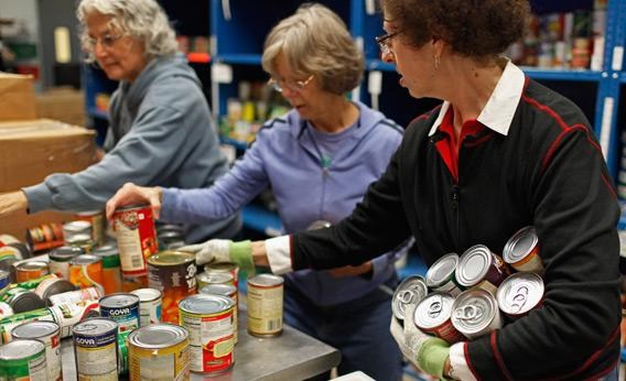 Food Banks Working Poor